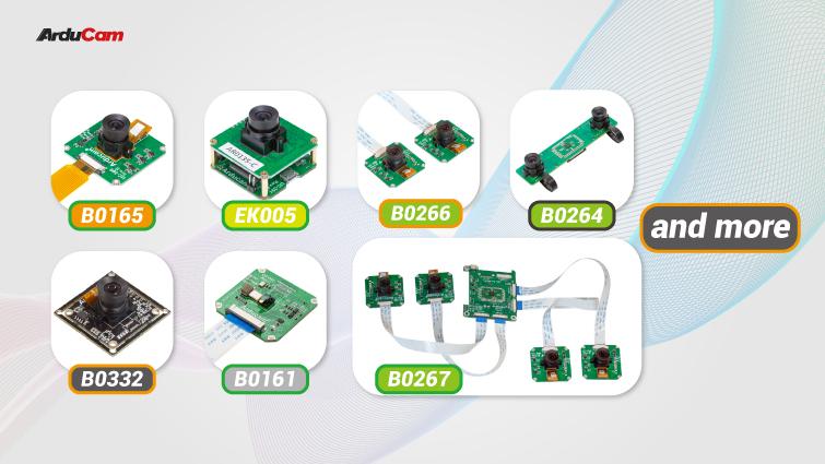 monochrome global shutter cameras for Raspberry Pi
