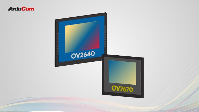 ov2640 vs OV7670
