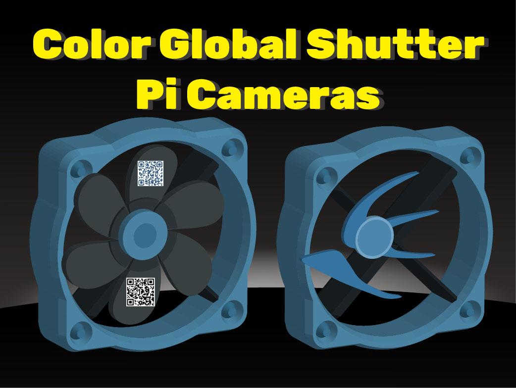 color global shutter cameras for raspberry pi 4