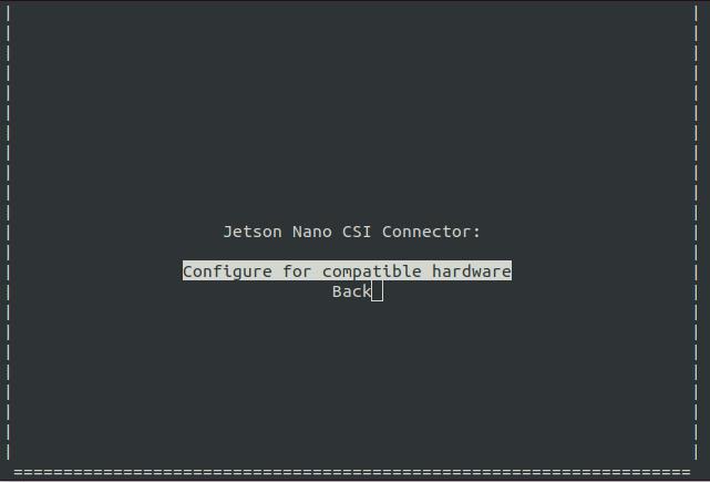 jetson nano nx csi connector configuration