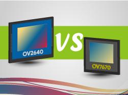ov7670 vs ov2640 comparison