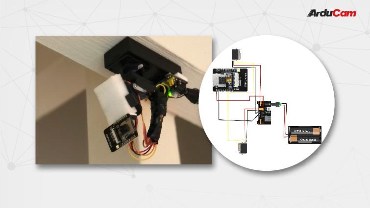 turn your esp32 cam into a video surveillance cam