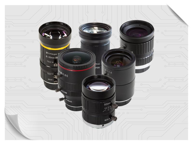 C Mount lens modules