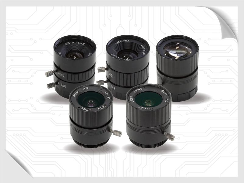 CS Mount lens modules