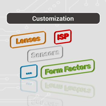 Customization for raspberry pi cameras 1