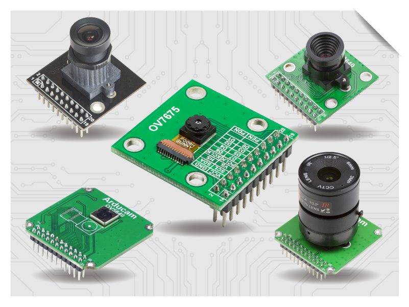 DCMI Camera modules for stm32