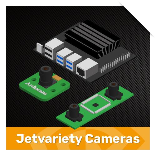 Jetvariety Camera series for Nvidia Jetson boards