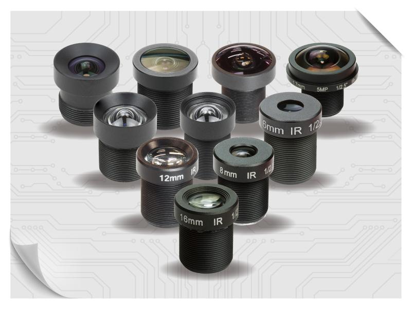 M12 Mount lens modules