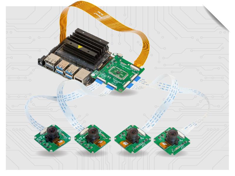 Multi camera solutions for Jetson nano