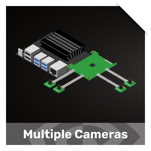 Multiple Camera solutions for jetson nx and nano