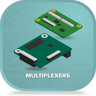 Multiplexers for mipi csi 2 cameras