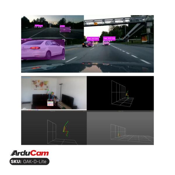 OpenCV AI Kit OAK D Lite OV7251×2IMX214 6