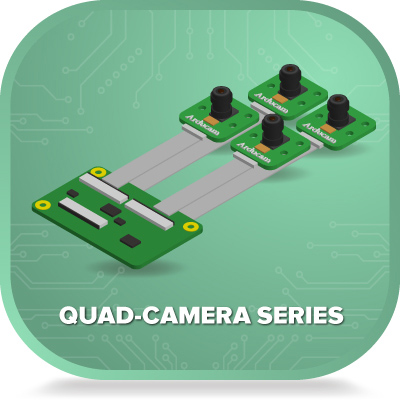Quad Camera Series for embedded systems 1