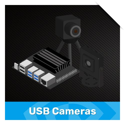 USB cameras for jetson nano