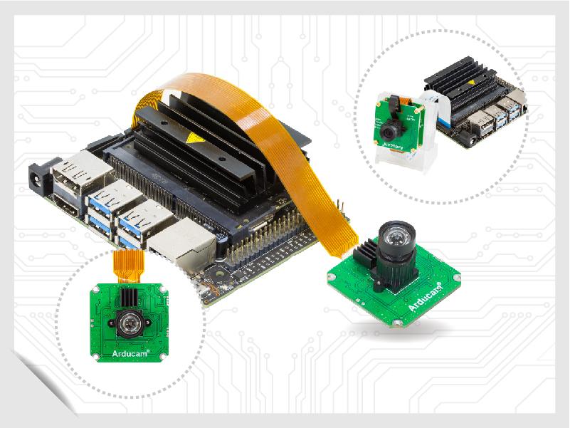 arducam Jetvariety Cameras for jetson nano