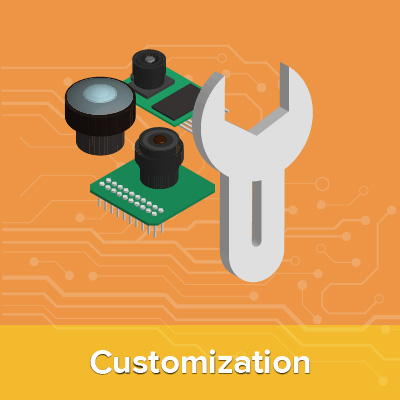 customization services for stm32 camera