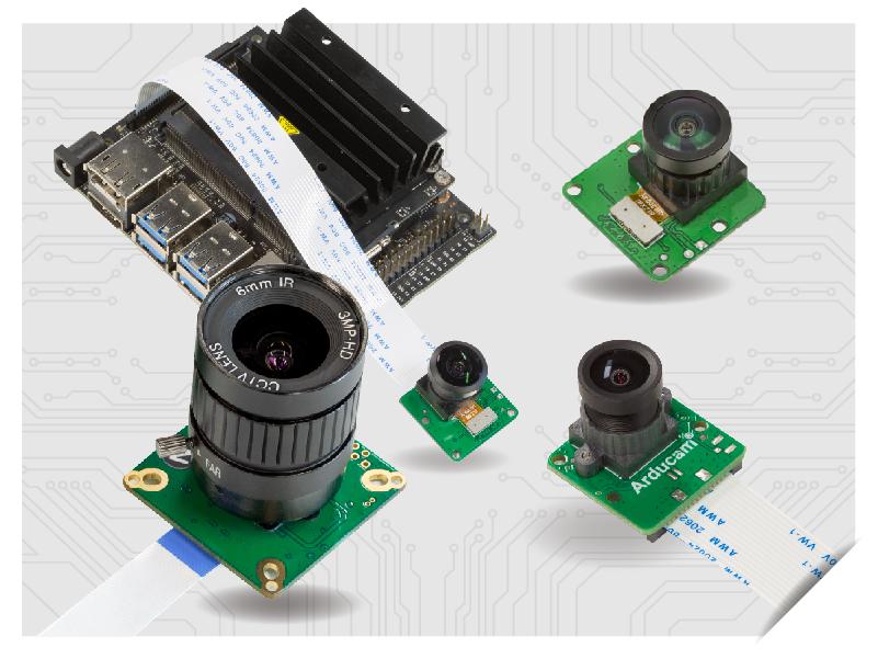 native raspberry pi cameras for Nvidia Jetson Nano