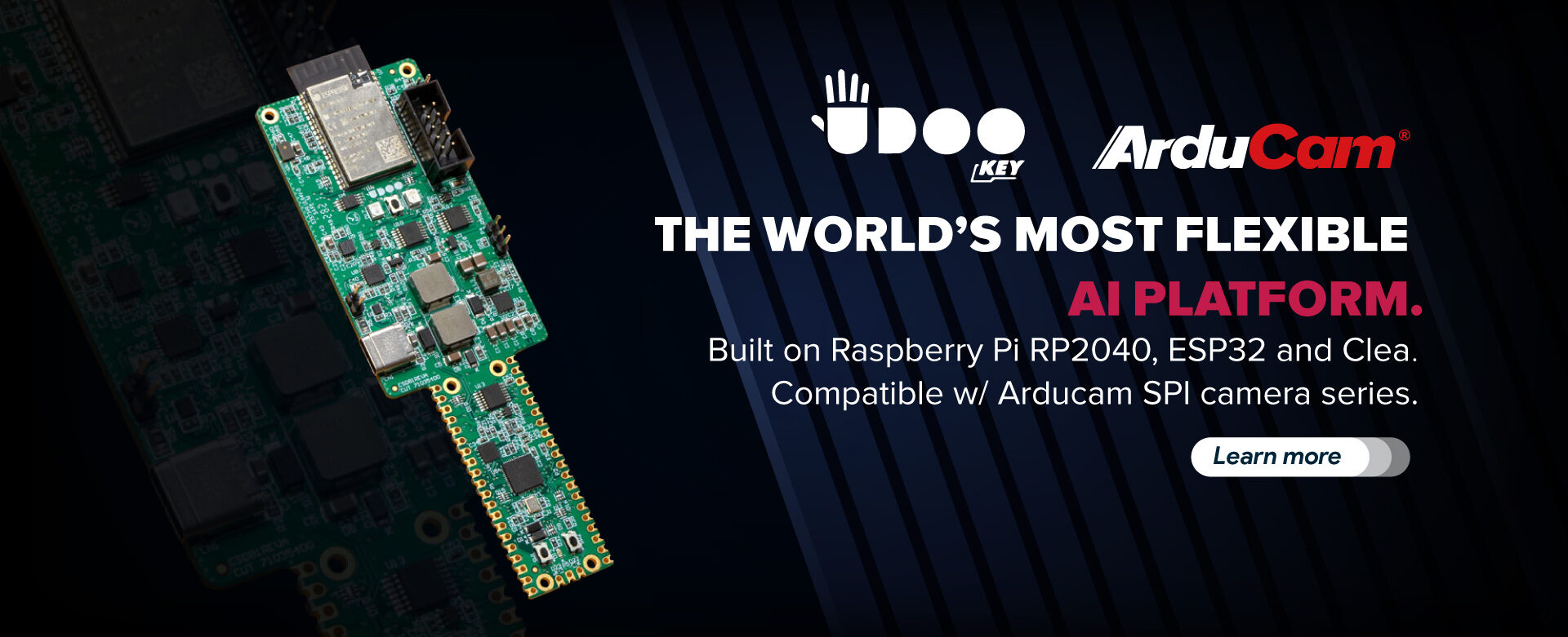 UDOO Compatible w Arducam SPI camera series